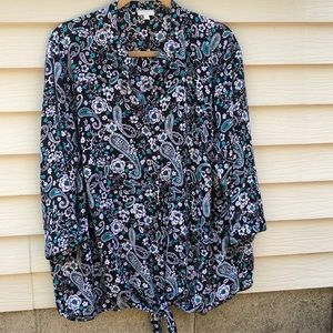 Talbots Woman button down blouse size 3x